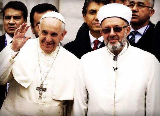 Pope Francis Imam