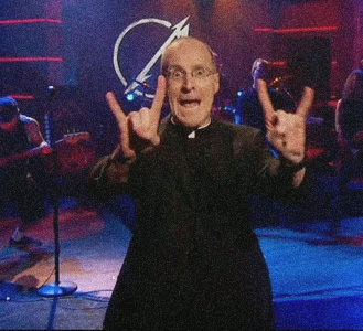 Fr James Martin SJ devil horns