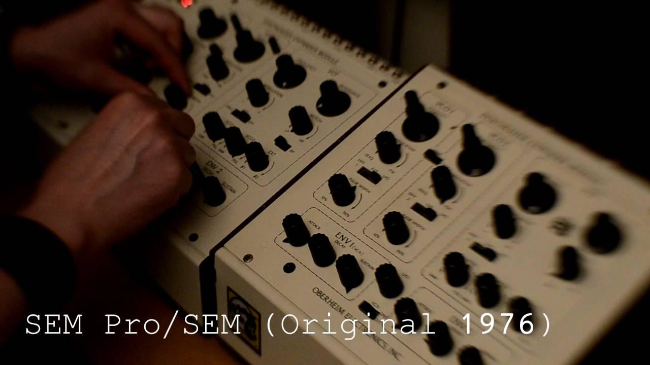 Oberheim SEM Pro / SEM (Original 1976)