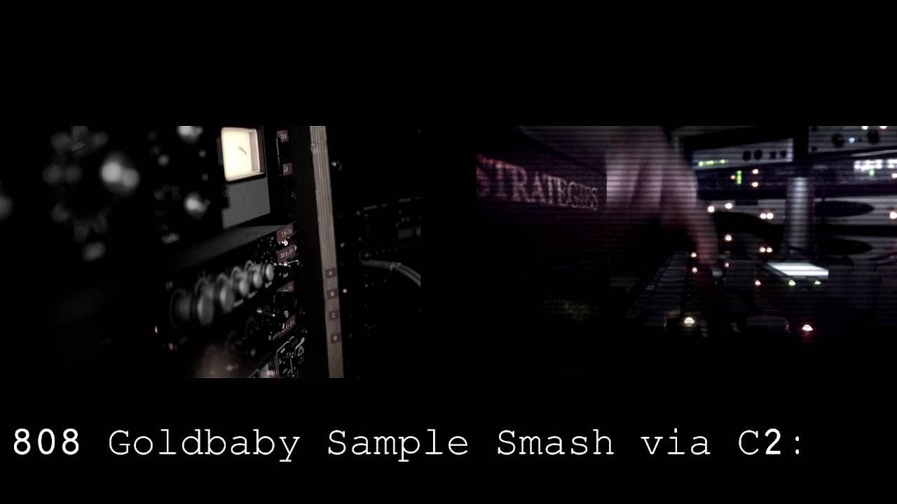808 sample smashing.