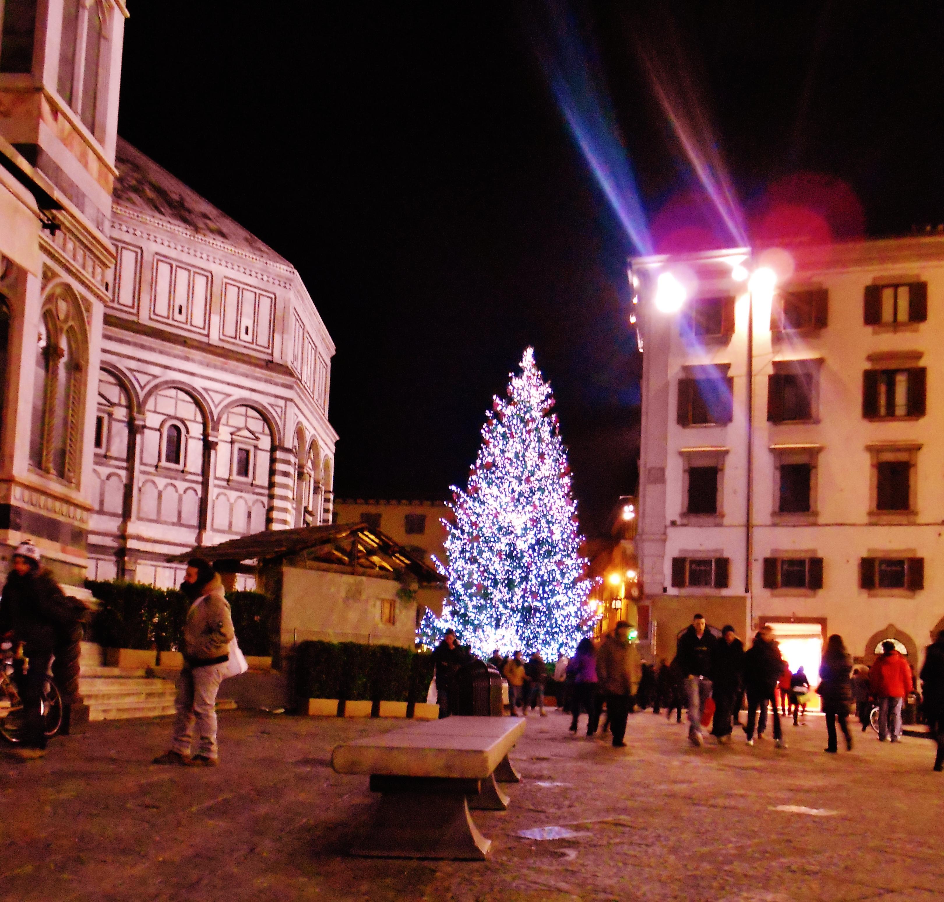 florence italy christmas
