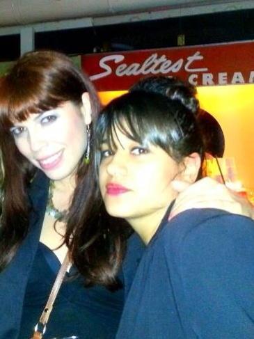 Yasmine and I :-)