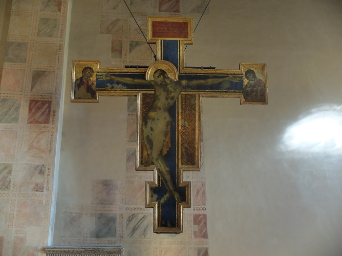 """Cimabue, the """" Christ Crucified """" 