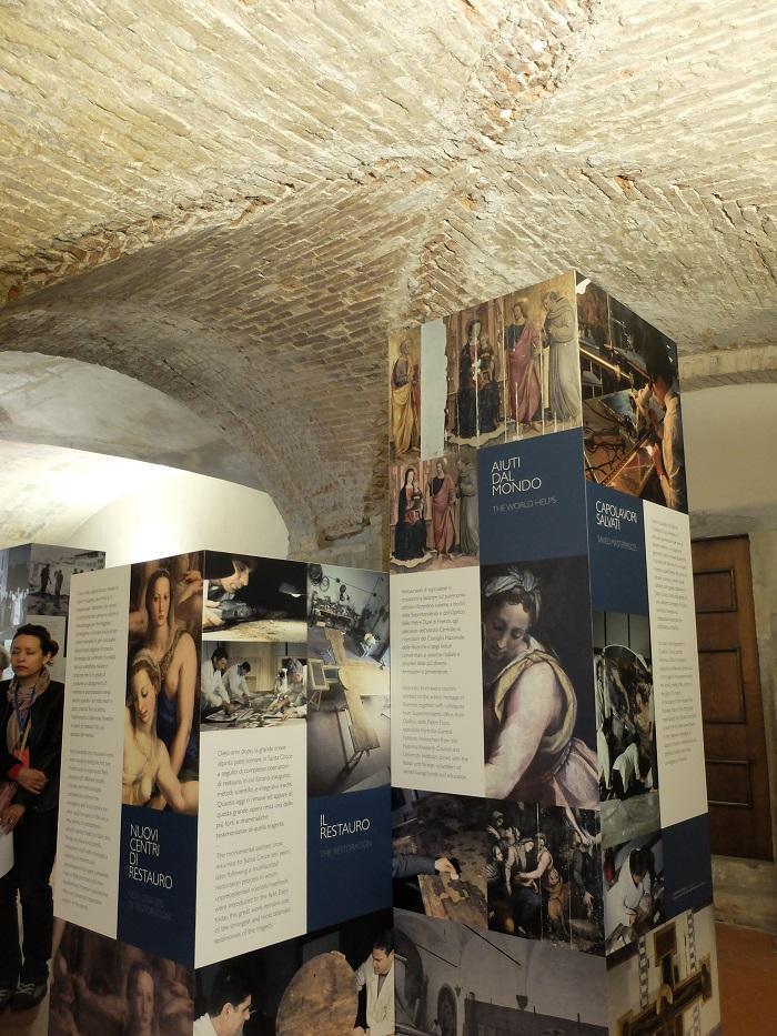 Santa Croce cloisters | Girl in Florence blog