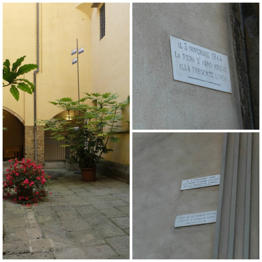 Florence Italy flood markers | Girl in Florence Blog