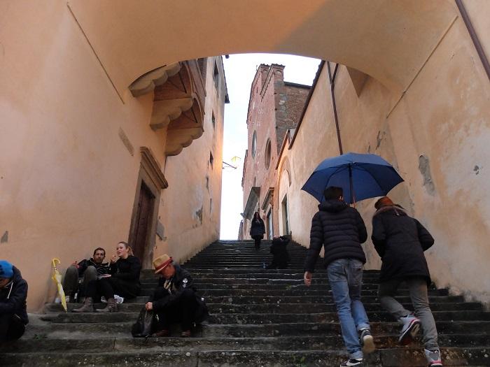 San miniato in Tuscany   Girl in Florence