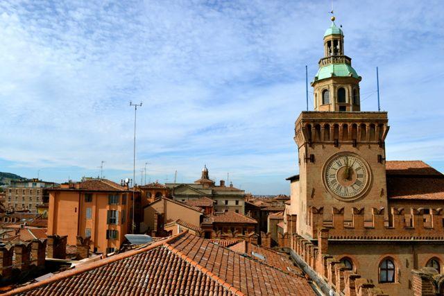 bologna italy rooftops