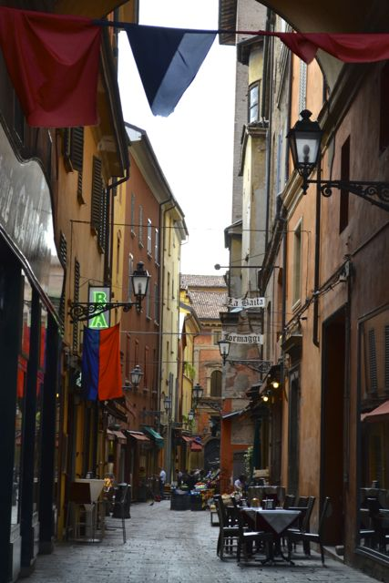 Bologna city streets