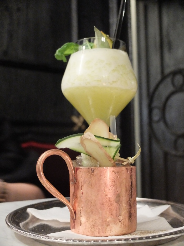 Moscow mule at The Florian, Florence