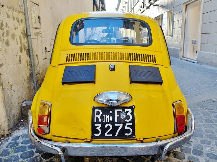 vintage fiat rome