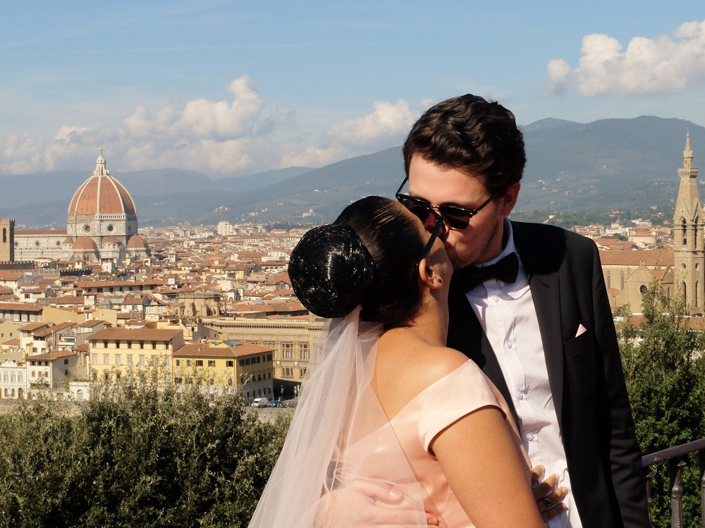 getting married in Italy | Girl in Florence