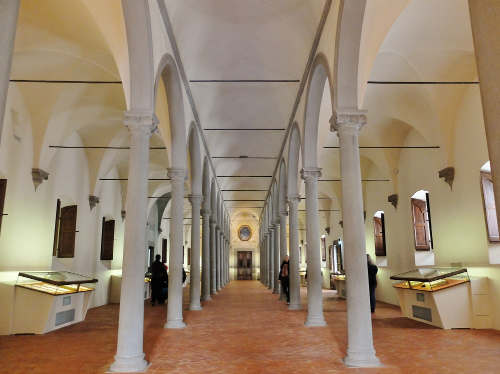 san marco museum | girl in florence