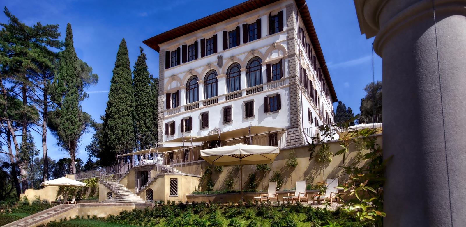 The Villa In all its glory. Photo credit: Il Salviatino