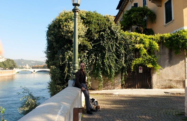 close to Castelvecchio along the Adige river