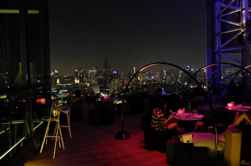 Sofitel So Bangkok rooftop bar, absolutely amazing!