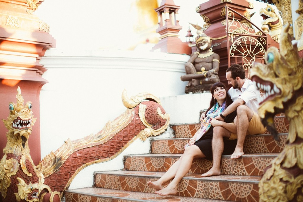 Photo credit: Laura & Tim in Chiang Mai for Flytographer