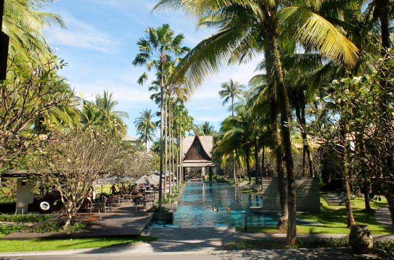 Twinpalms resort on the west coast of Phuket