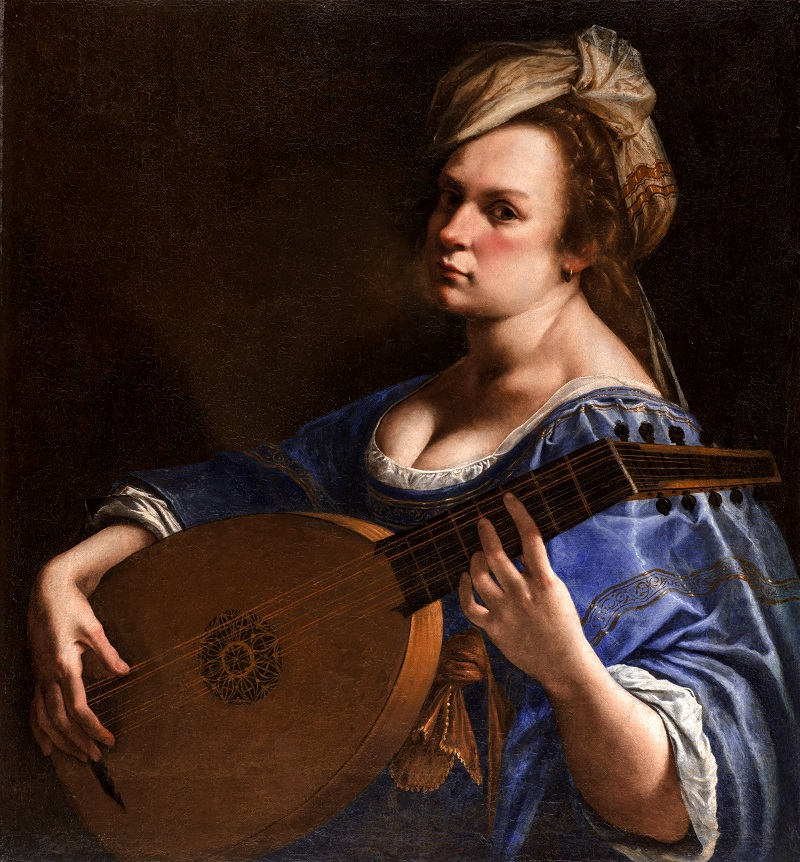 Self-Portrait as a Lute Player, 1615–1617