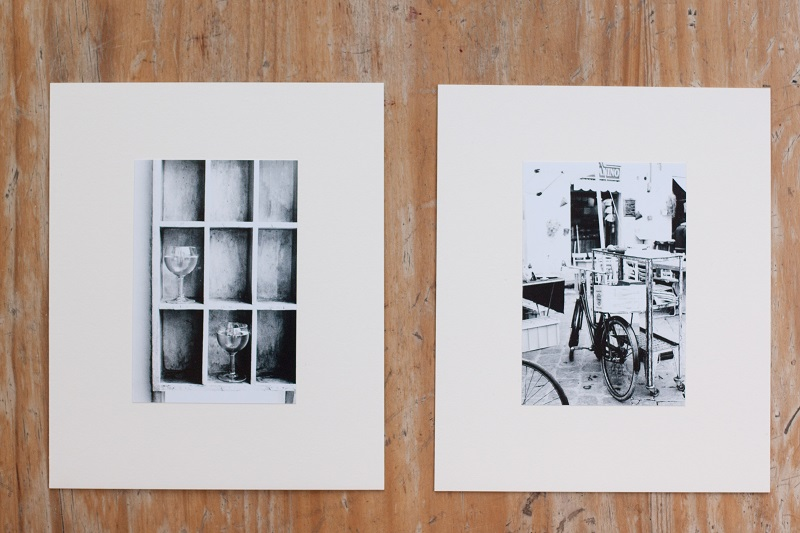 The winner will be able to choose from these two original prints by Emiko!
