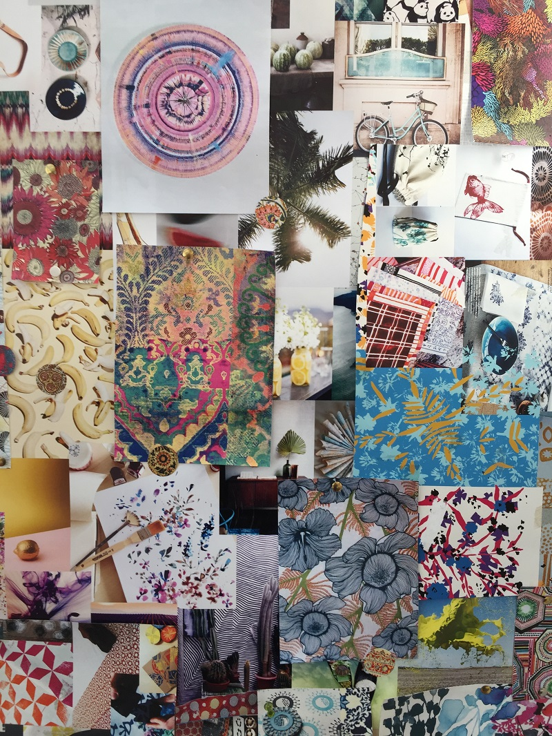 Margherita's visual pinboard