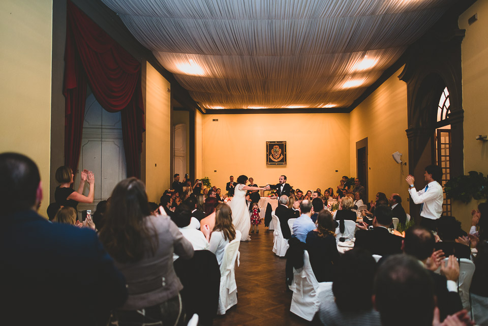 Dancing was a HUGE part of our wedding. And helped work off that pasta! Photo credit: Francesco Spighi