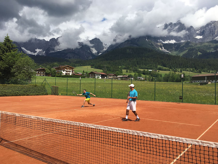 Not just your average engineer, Tommaso is quite the tennis player. Check out that move!
