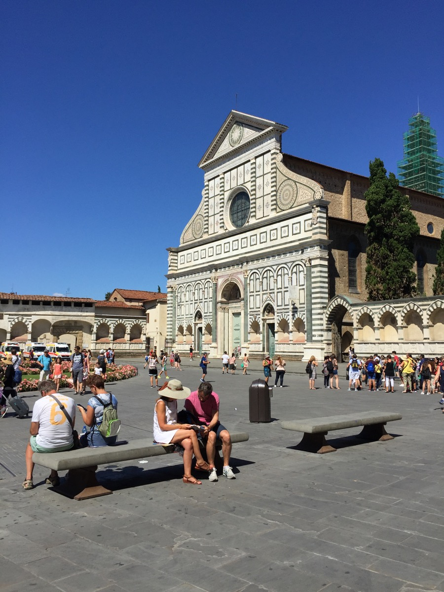 piazza santa maria novella, one of my favorite squares in the city