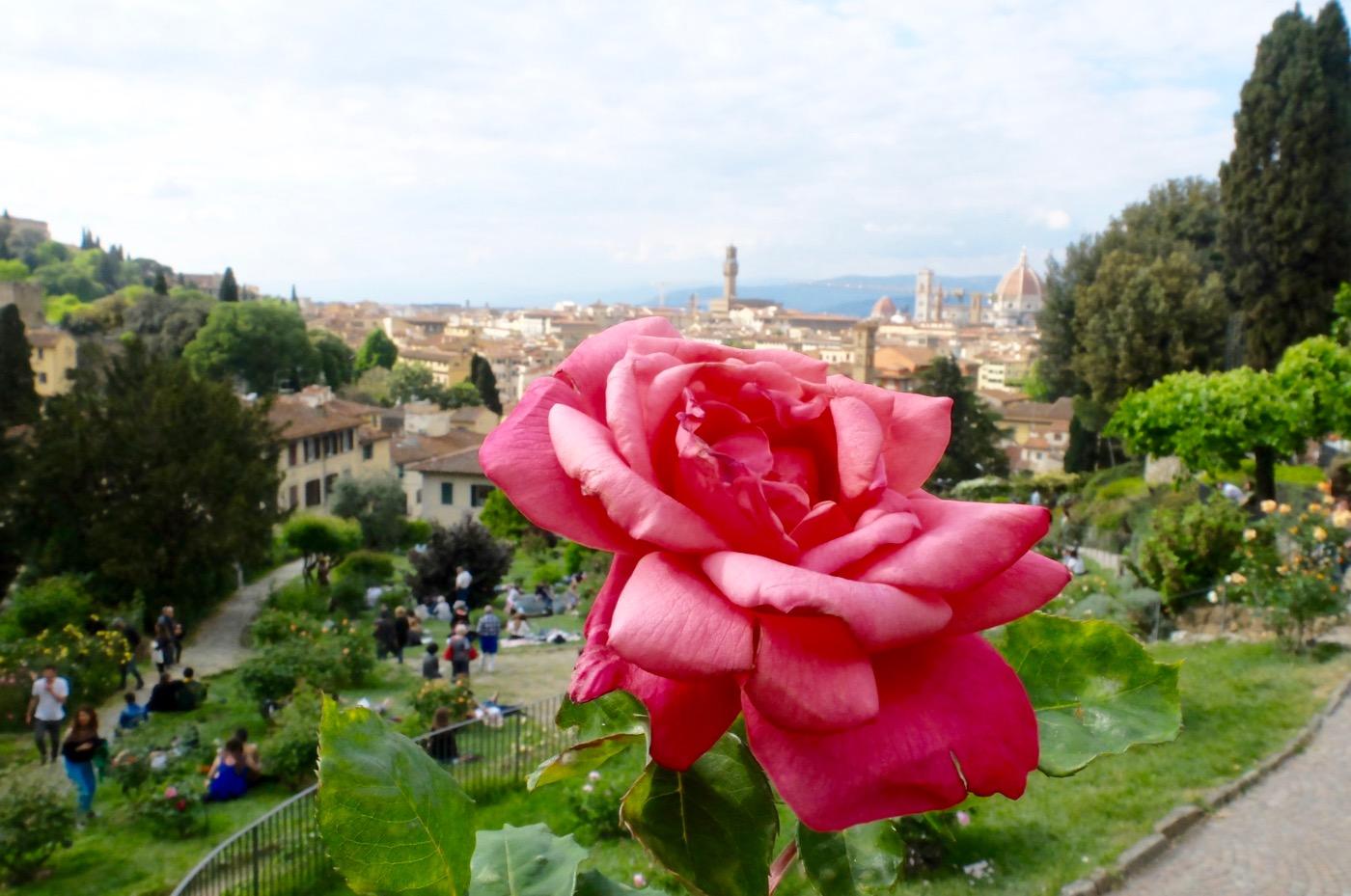 giardino delle rose firenze