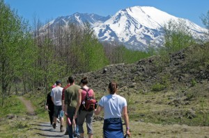 hiking the hummocks trail in mt. st. helens national monument