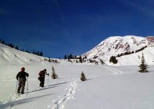 Mt. Rainier Tour Snowshoeing