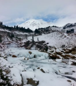 Mt. Rainier in Winter