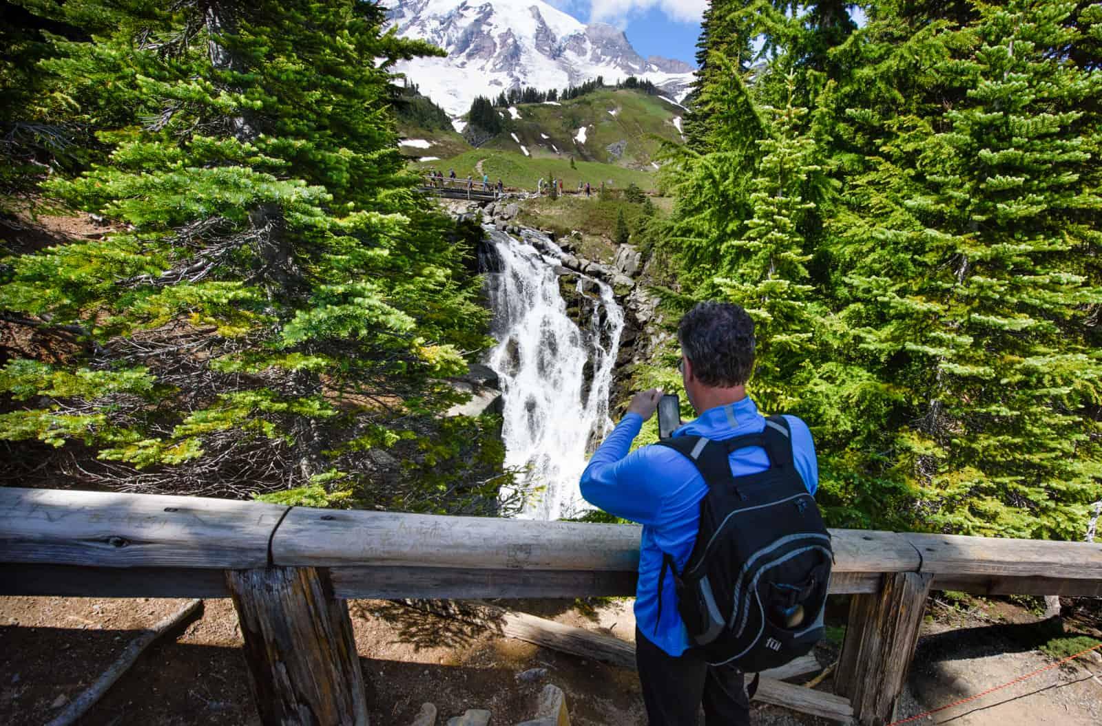 Mt. Rainier - Credit Jim Meyers