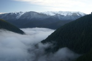 Olympic Peninsula Sky View