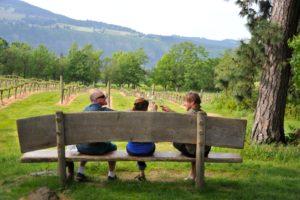 Tasting wine in Oregon's Willamette Valley