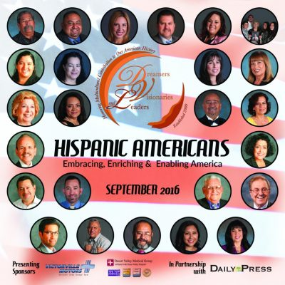 2016 Publication Hispanic Heritage Month Daily Press Cover
