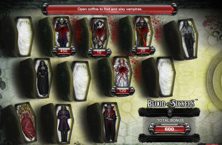 blood suckers slot bonus round