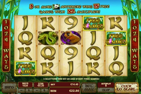 scatter symbol of lucky panda slot game