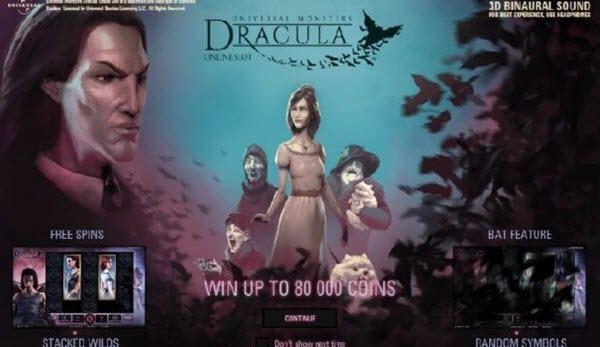 Dracula slot game