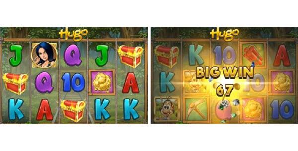 Hugo slot game by Play'n GO