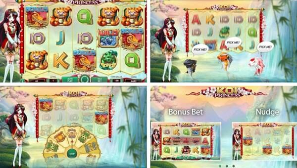 Wild And Scatter Symbols-Koi Princess Slot -Netent slots
