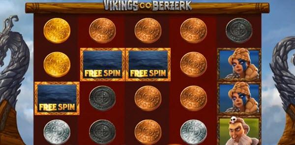 scatter symbol of Vikings Go Berzerk slot game