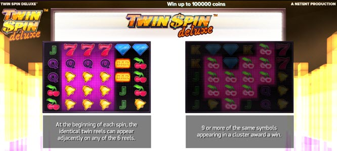 Twin Spin Deluxe slot game