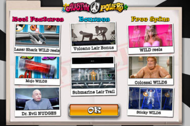 Austin Powers slot game