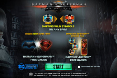 Batman v Superman Dawn of Justice slot game