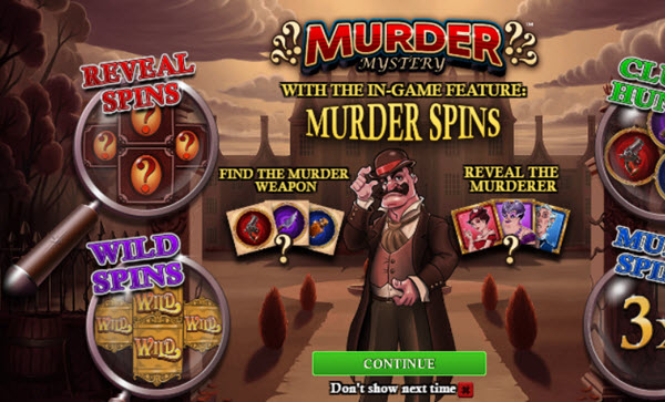 Murder Mystery slot game