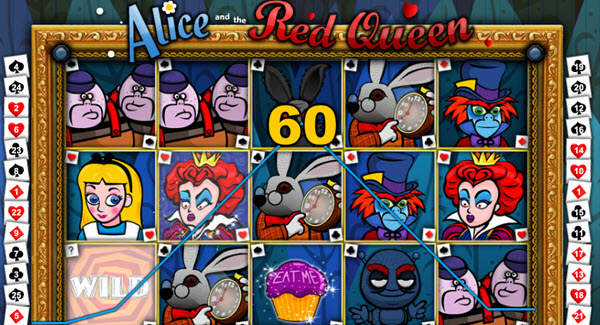 Alice and The Red Queen slot game
