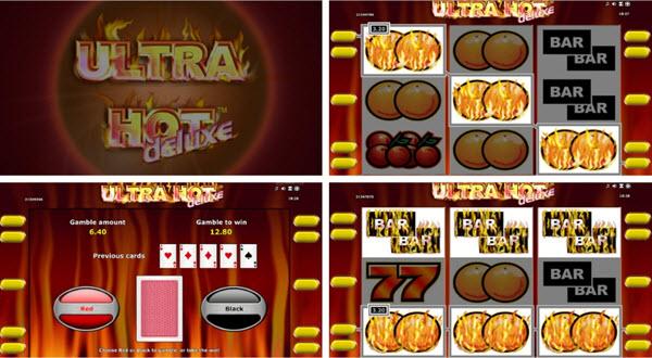 ultra hot deluxe slot game-novomatic slots