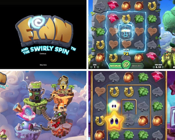 Features ofFinn And The Swirly Spin Slot