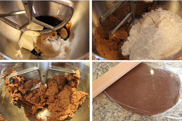 Gingerbread dough
