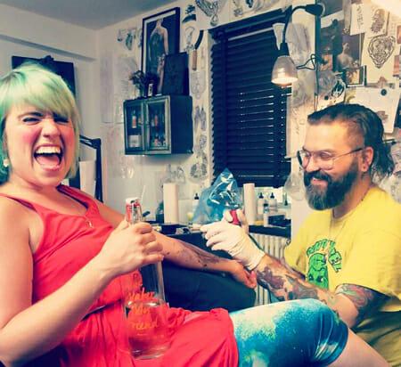 London Tattoo Artist Nick Whybrow